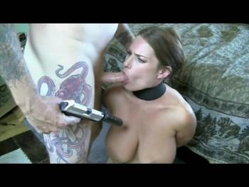 Peachy Keen Film-   DamselX Gun Abuse P2