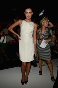 Odette Annable - Monique Lhuillier  fashion show in New York 09/08/12